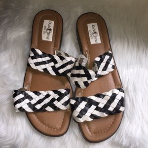 ☀️Duck Head Sandals, Leather, Size 12
